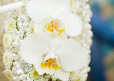 Morsiuskimppu Orkidea